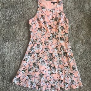 Cute, pink floral, Banana Republic dress